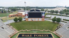 BB&T Field At Wake Forest University Royalty Free Stock Image