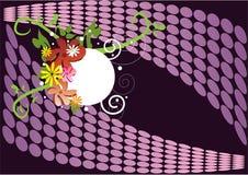 Bbackground púrpura stock de ilustración