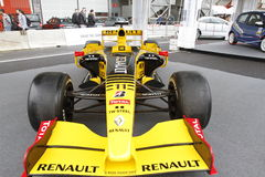 Renault racing car Royalty Free Stock Images