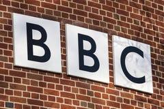 BBC商标 库存照片