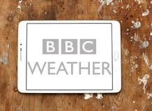 BBC天气商标 免版税库存照片