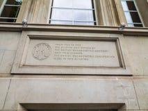 BBC开胃菜小山房子在伦敦(hdr) 免版税库存照片