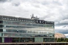 BBC苏格兰总部设办公室 库存图片