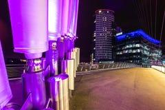 BBC-Büro Salford-Kais Stockfotografie