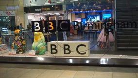 BBC Birmingham. The regional BBC studio and visitor centre in Birmingham, England Stock Image