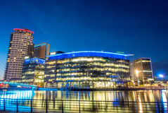 BBC Media city in Manchester Stock Photos