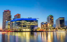 BBC Media city in Manchester Royalty Free Stock Photo