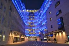 BBC-Nachtzeit Stockfotos