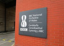 BBC National Orchestra of Wales Royalty Free Stock Photos