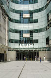 BBC New Broadcasting House entrance, London Stock Photos