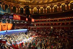 BBC PROMS. At the Royal Albert Hall, 2013 Royalty Free Stock Photo