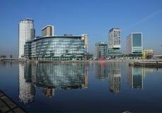 BBC studia przy Salford Quays obraz stock