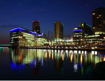 BBC Studios at Mediacityuk Stock Photography