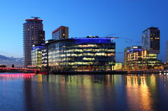 BBC Studios at Mediacityuk Royalty Free Stock Photography
