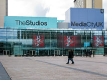 BBC Studios, MediaCityUK, Manchester Stock Photography