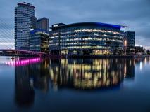 BBCstudio, Salford-Kaden royalty-vrije stock foto