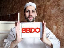 BBDO reklamowej agenci logo Fotografia Royalty Free