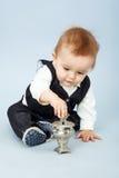Bbeautiful λίγο μωρό Στοκ Φωτογραφίες