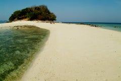 bbeautiful strandkrabi thailand Arkivfoton