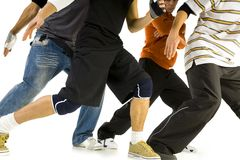 Bboys In Pose Royalty Free Stock Photography