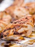 bbq κοτόπουλο Στοκ εικόνες με δικαίωμα ελεύθερης χρήσης