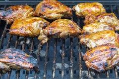 BBQ κοτόπουλο Στοκ Φωτογραφίες