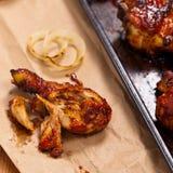 BBQ κοτόπουλο Buffalo Στοκ Φωτογραφίες