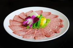 bbq χοιρινό κρέας πιάτων Στοκ Φωτογραφίες