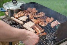 BBQ барбекю мяса Стоковые Фото