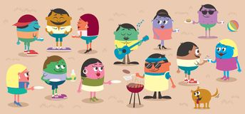 Bbq libre illustration