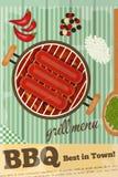BBQ Immagini Stock Libere da Diritti