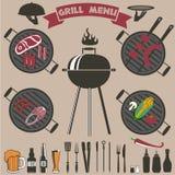 BBQ Imagem de Stock Royalty Free