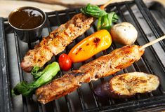 BBQ Foto de Stock Royalty Free