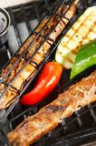 Bbq. Grill food Royalty Free Stock Photography