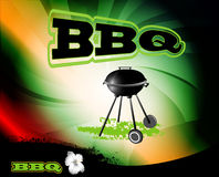 BBQ, background vector illustration