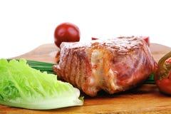 Bbq : beef (pork) steak Stock Photography