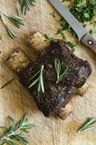 BBQ Beef short ribs Stock Photo