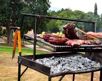 BBQ beef - Sinta & Entrecote Royalty Free Stock Photo