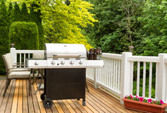 BBQ and Beer for outdoor party time Stock Image