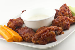 BBQ Buffalo Wings Royalty Free Stock Photos