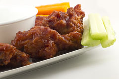 BBQ Buffalo Wings Royalty Free Stock Images
