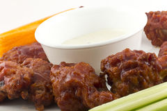 BBQ Buffalo Wings Royalty Free Stock Image