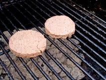 BBQ Burgers Stock Photography