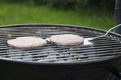 BBQ Burgers Stock Image
