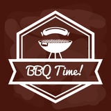 Bbq and butchery theme Royalty Free Stock Photo