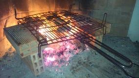 BBQ casalingo Immagini Stock