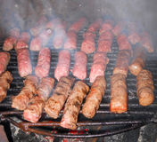 BBQ cevapi Stock Photos