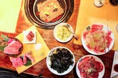 BBQ Chacoal ιαπωνικό ύφος σχαρών Στοκ Εικόνες
