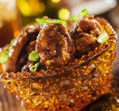 Bbq chickeh wings Royalty Free Stock Image