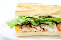 Bbq chicken sandwich Stock Image